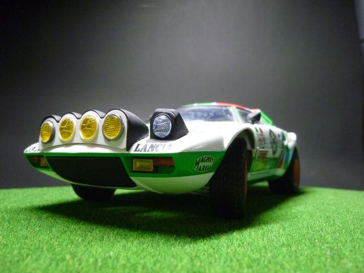 Lancia Stratos Hf 1 20 Scale Model Automotive Classic