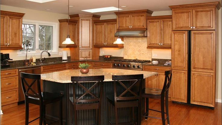 X Kitchen Cabinets With Island