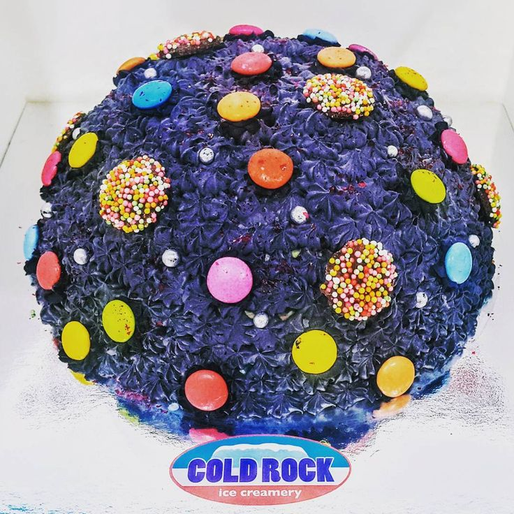 Heaven Must Be Missing a Cake! a #coldrock #icecream #cake I'm sure you will Feel the Love with this #DISCO themed Cold Rock cake ! order now on 0417 115 707