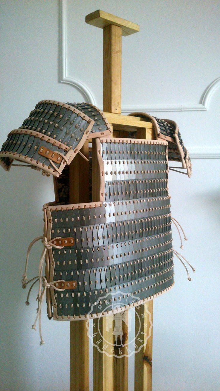 viking Birka lamellar by Lamellars.deviantart.com on @DeviantArt