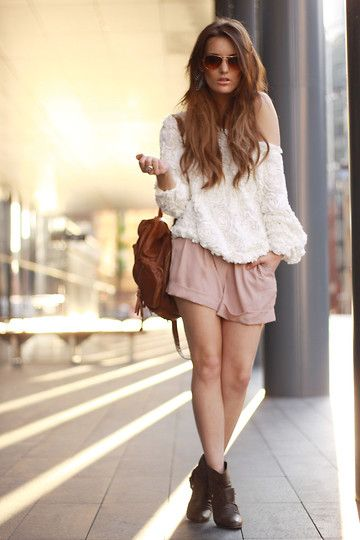 nicePink Shorts, Sweaters, Summer Fashion, Casual Outfit, Style, Clothing, Colors, Cute Outfit, Dreams Closets