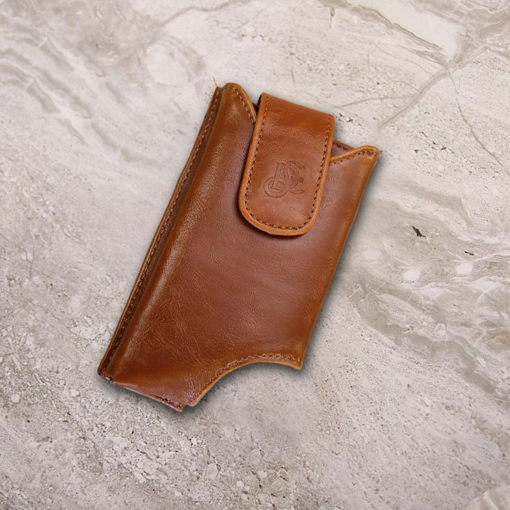 The Original LD West® Wallet Case - Cognac