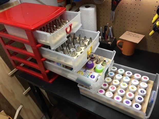 Cake Decorating Organizer Trays Cake Decorating Tools