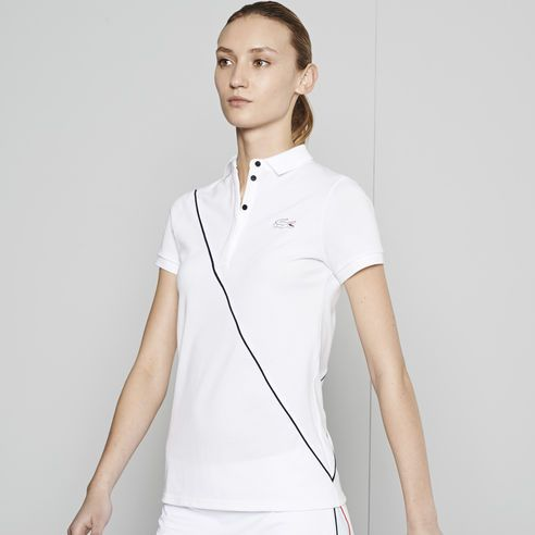 #Lacoste#polo #LacosteTennis collection #womenswear - get in the #FrenchOpen mood, #RG14