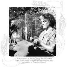 Carrie Stevens a fly tying legend