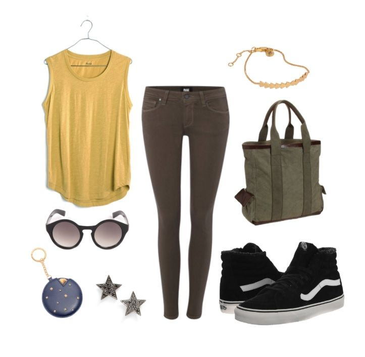 4 LA Street Style Outfits Inspired by Disney•Pixar Films | comfy + casual Wall•E-inspired fashion | [ http://di.sn/6000BfXky ]