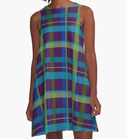 "20% OFF Everything! Use: SITEWIDE20. SOLD! ""Purple& Lime"" A-Line Dress by scardesign11 Many Thanks to the buyer from the United States!! #dress #sale #sales #deals #discount #save #fashion #giftsforher #purpledress #alinedress #buydress #modern #plaid #plaiddress #cool #awseome #gifts #purple #violet  #family #giftideas #onlineshopping #online #shopping #style #womensfashion #giftideas #39  • Also buy this artwork on apparel, stickers, phone cases, and more."