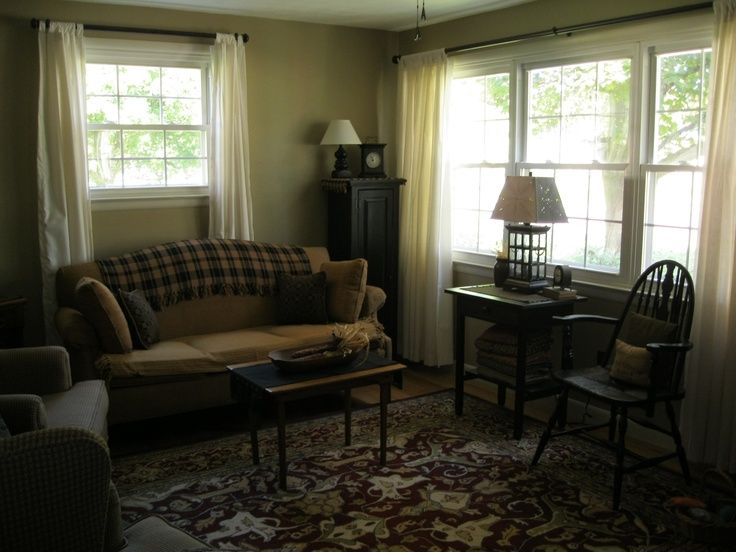 Photos Of Primitive Living Rooms Cute Primitive Living Room My Primitive