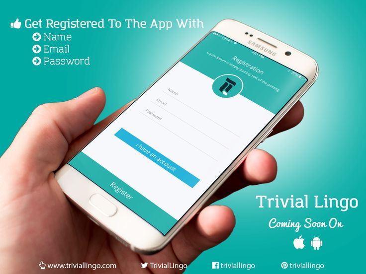 It's easy to sign in with Trivial Lingo, just add your name, email and password. That way you'll keep track of your progress as well! :) #ComingSoon