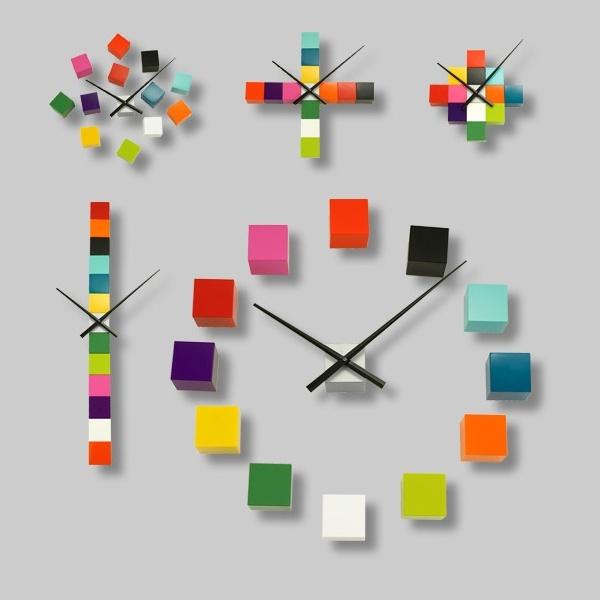 Horloge murale Tic tac - Pylones