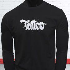 Тату татуировки магазин образа жизни гордость постоянного мужская черная футболка с длинным рукавом
