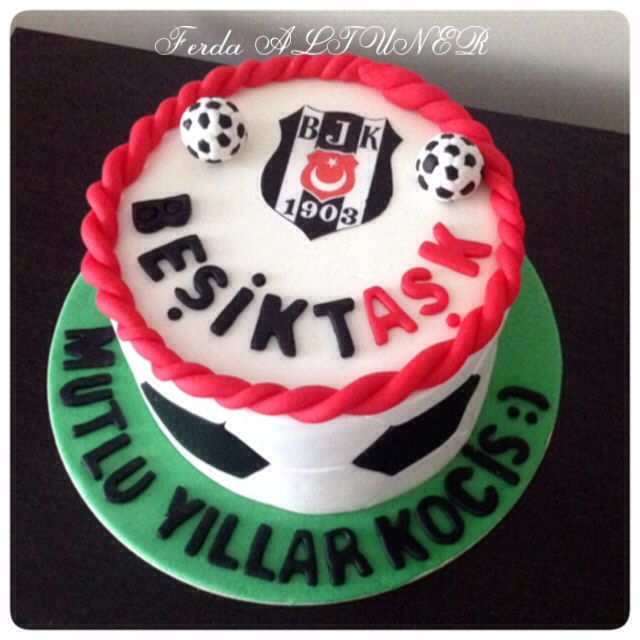 Beşiktaş cake Bjk cake