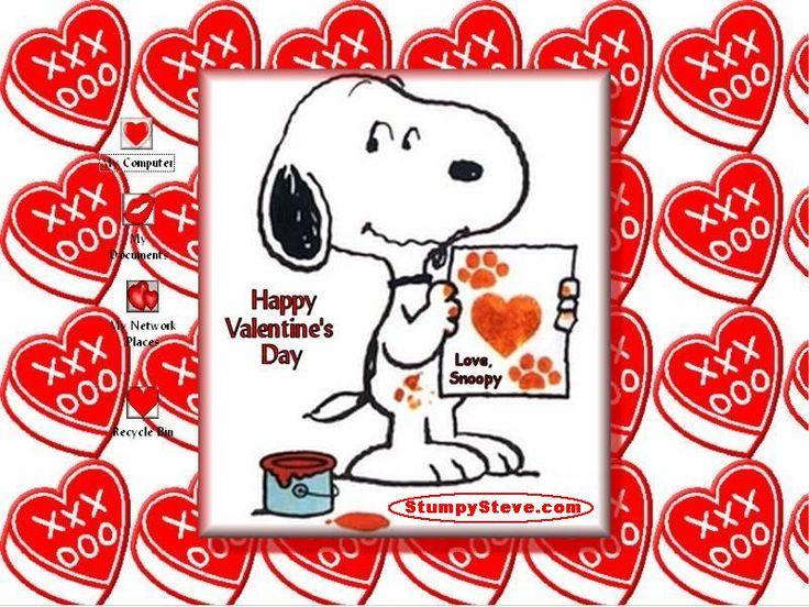 Valentine's Day Peanuts Comics | Virtual Valentine's Day Cards, Virtual Valentine Collection