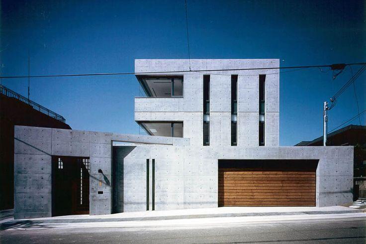 RC住宅 鉄筋コンクリート造の家 アトリエ付きの二世帯1
