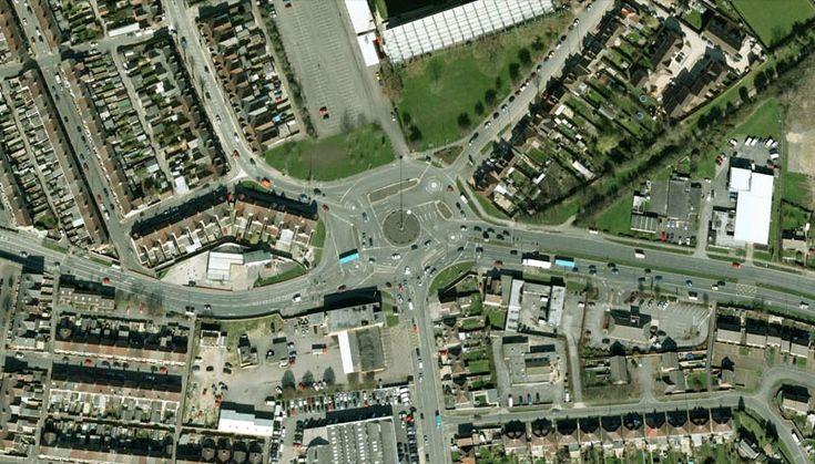 The Magic Roundabout, Swindon, England