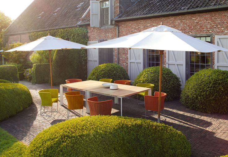 modern outdoor living, country home - Paola Lenti