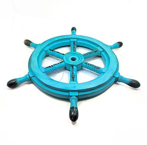 Nautical Handcrafted Wooden Ship Wheel - Home Wall Decor ... https://www.amazon.com/dp/B01DO73N5E/ref=cm_sw_r_pi_dp_x_N8dVybWNB6A9T
