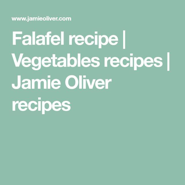 Falafel recipe | Vegetables recipes | Jamie Oliver recipes