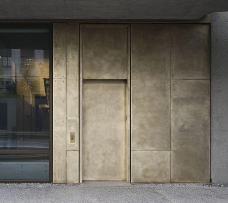 Bronze Cladding Axis Facades Textures Pinterest