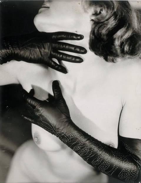 "Germaine Krull, Woman in Gloves"" by Eli Lotar, 1935"