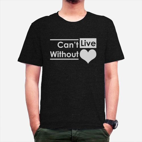 Cant Live Without Love dari Tees.co.id oleh Est.Cloth