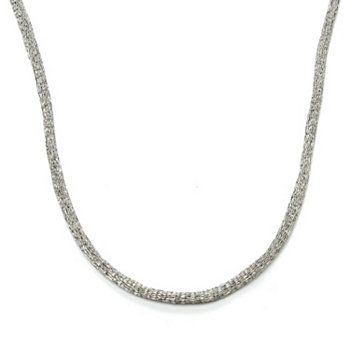 JOYA by Judy Crowell Titanium Mesh Necklace - back in stock on ShopHQ!