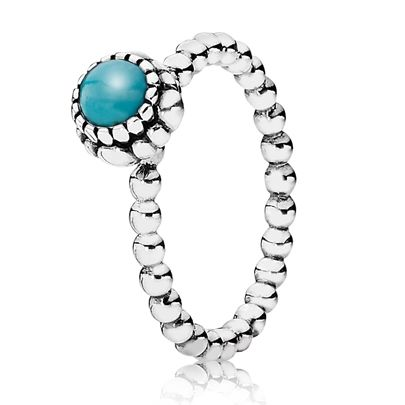 Pandora Ring. I have this, my birthstone for December.
