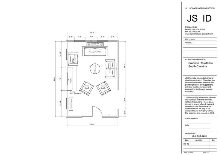 1000 images about jill seidner interior design drawings for Carolina plan room