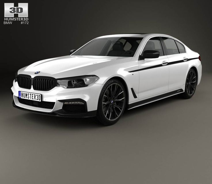 BMW 5 Series (G30) M Performance Parts 2017 3d Model From Hum3d.com