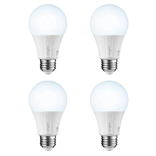 Element Classic by Sengled - 4 Pack - A19 60W Equiv. Daylight (5000K) Smart LED Bulb, Zigbee, Works with Amazon Echo Plus & SmartThings, Hub Required for Amazon Alexa & Google Assistant #Element #Classic #Sengled #Pack #Equiv. #Daylight #Smart #Bulb, #Zigbee, #Works #with #Amazon #Echo #Plus #SmartThings, #Required #Alexa #Google #Assistant