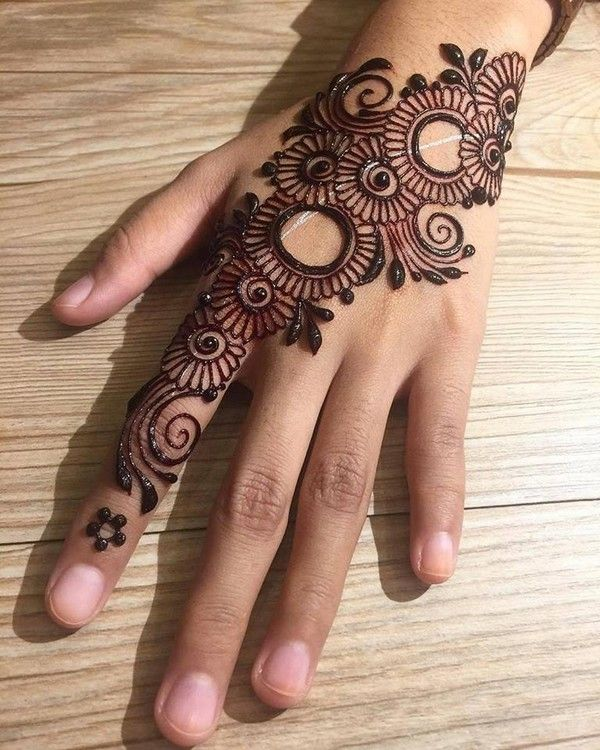 Download Latest Engagement Mehndi Designs Images 2018