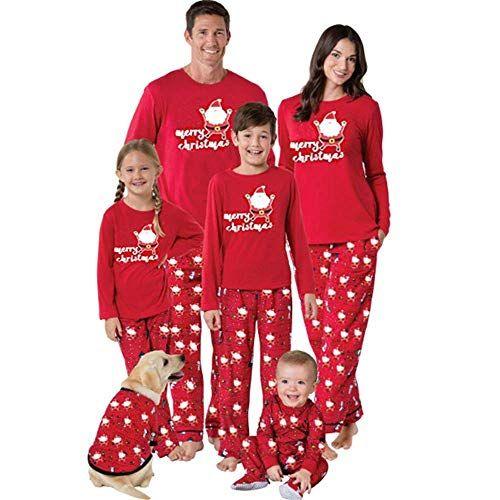 Weihnachten Pyjama Familie.Weihnachten Baby Kleidung Set Kinder Pullover Pyjama Outfits Set