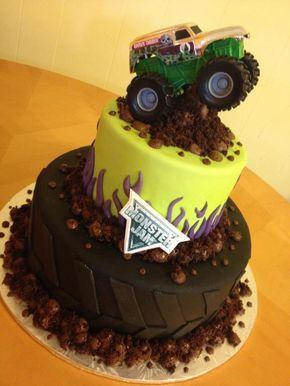 Top 25 Best Monster Truck Cakes Ideas On Pinterest