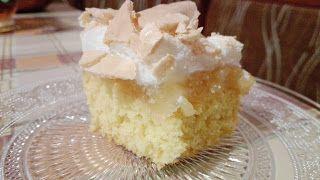Pasje i eksperymenty: Ciasto z jabłkami i puszystą pianką