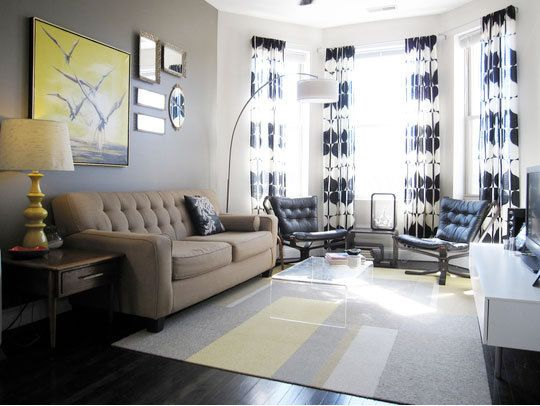 Ways To Use A Window Bay Living Room ArrangementsLiving LayoutsLiving