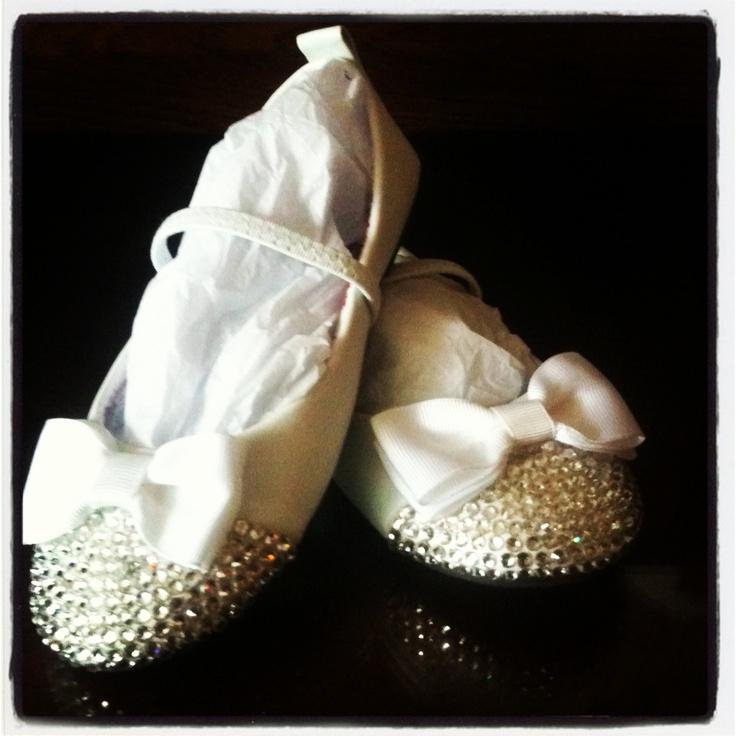 Flower girl  shoes .