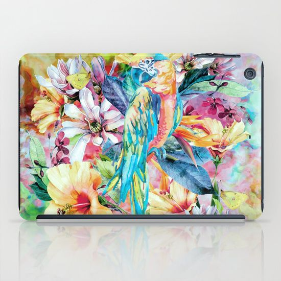 Buy PARROT by RIZA PEKER as a high quality iPad Case. Worldwide shipping available at Society6.com. Just one of millions of products available.