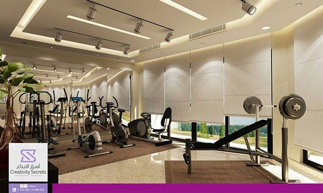 3D Interior Design for Home Workout Room. Design by CSDecor أسرار ...
