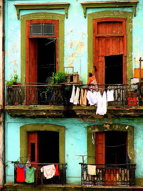 Havana, Cuba. Secondary setting for Caribbean Freedom (releases April 6, 2013). One of Heroine's grandmothers lives in a building similar to this one. For more info on Island Legacy Novels, visit me at www.terimetts.com and check under Novels.