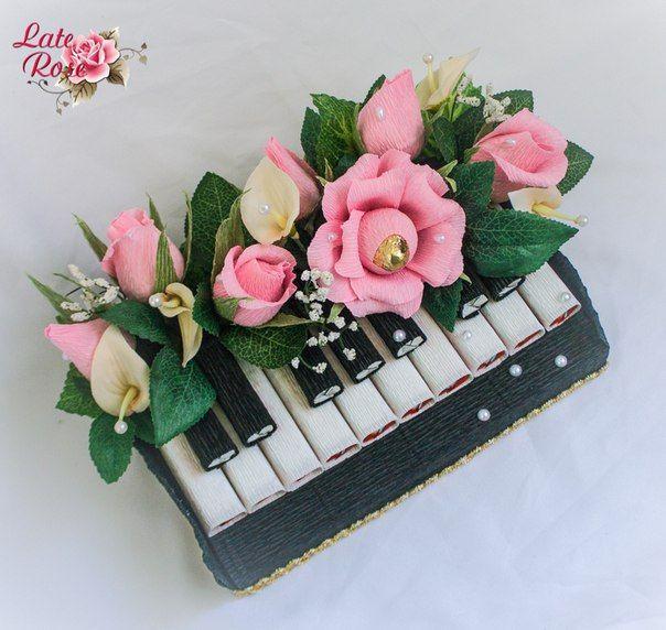 цветы на шоколадке - Поиск в Google