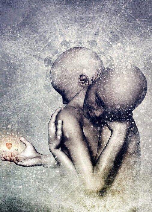 Když o někom přemýšlíme, vzniká energetický most mezi námi a tím, na něhož…