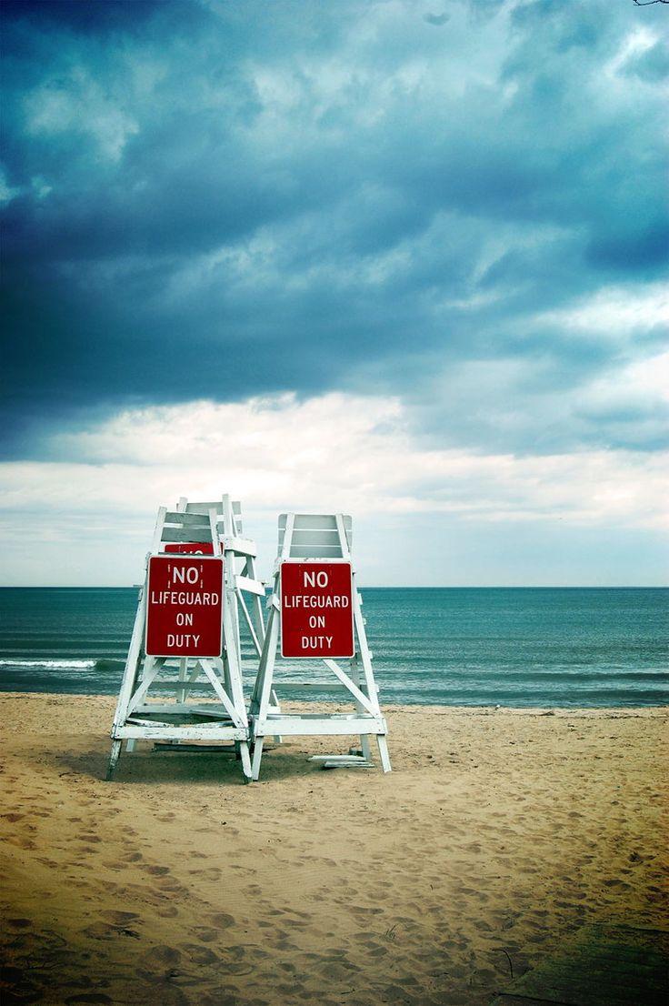 No Lifeguard on Duty Evanston Illinois on