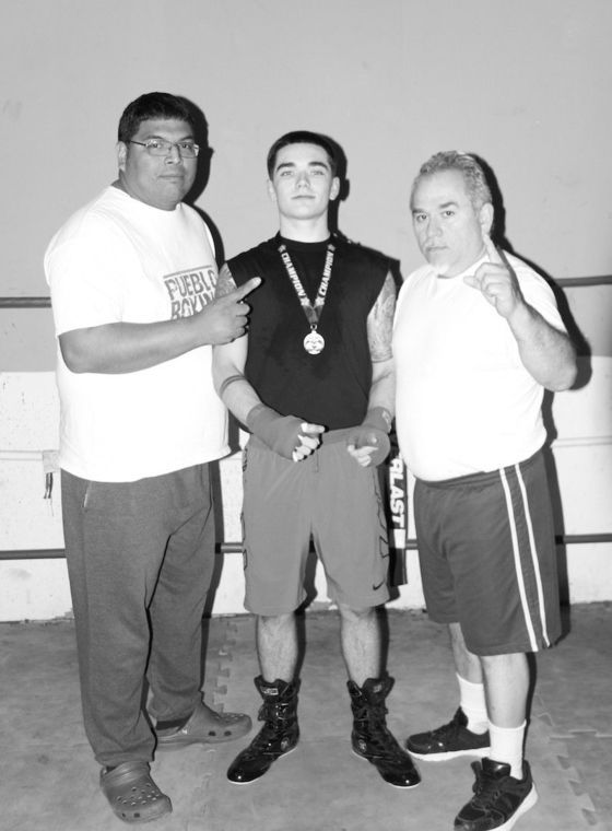 Local boxing gym produces two professional fighters