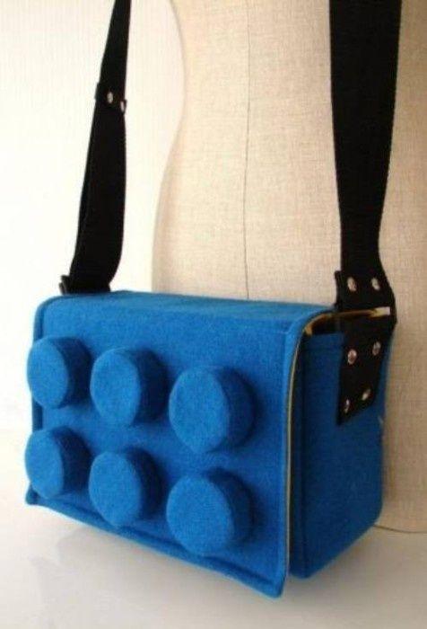 Lego Messenger Bag #lego