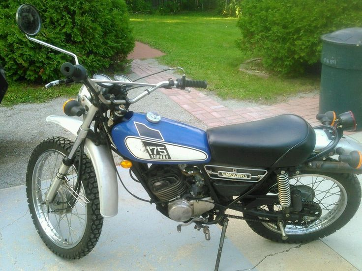 1000 images about 1976 yamaha dt175c on pinterest bikes for 1976 yamaha xs500 parts