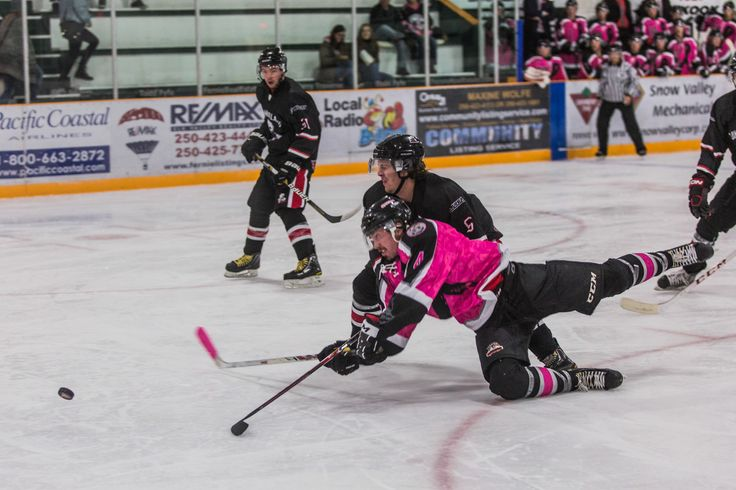 Local Ghostriders matches at the Fernie Memorial Arena
