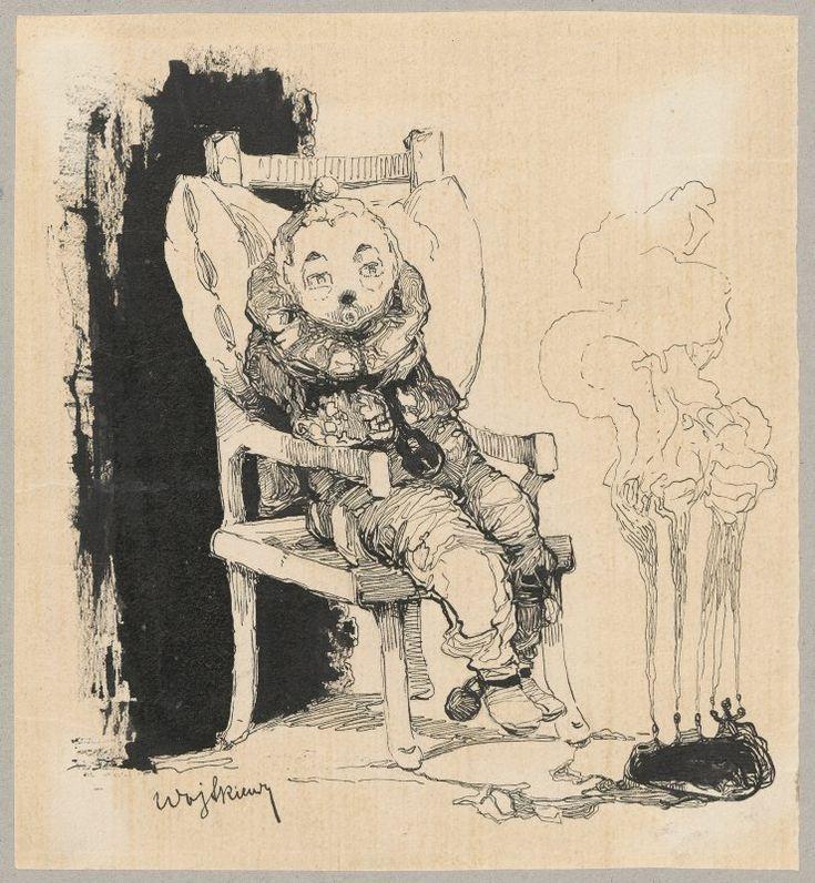 Pierrot - autoportret symboliczny