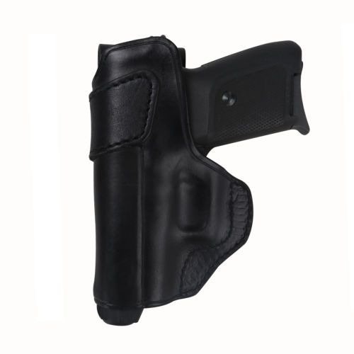 Tourbon Tactical Holster Pistol Handgun Carry OWB Belt Leather Left Handed Black