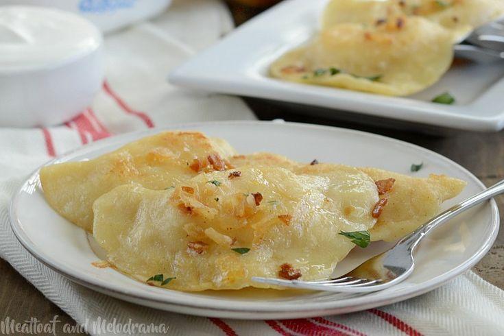 Homemade Cheddar Potato Pierogi Recipe Food recipes