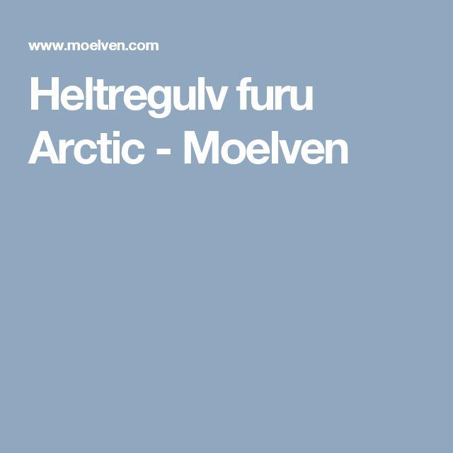 Heltregulv furu Arctic - Moelven